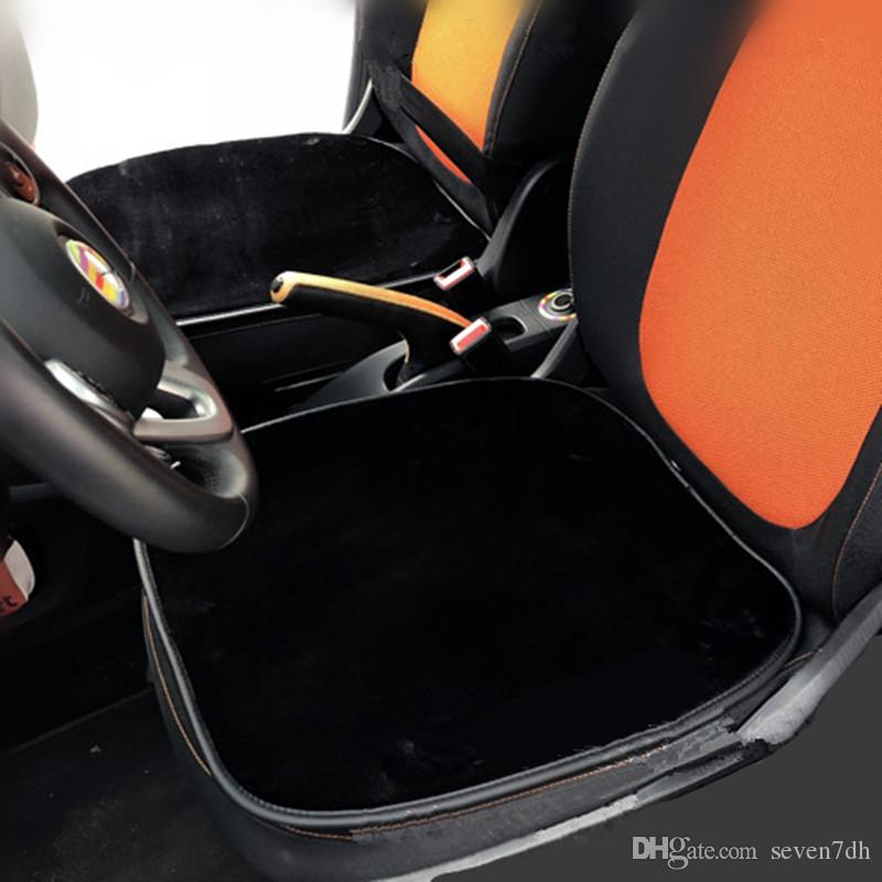 Almofada Do Assento Traseiro Do Carro De Pelúcia preto para Smart fortwo forfour 2009 2010 2011 2012 2013 2014 2015 2016 2017 2018 Acessórios Interiores