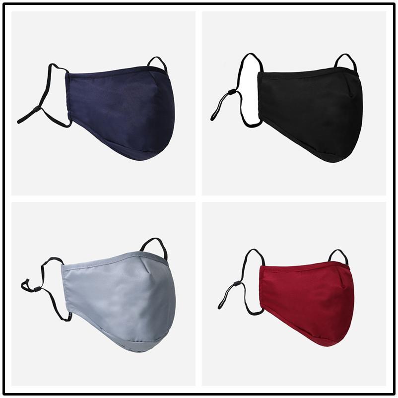 Moda maschera di protezione maschere Uomini Donna Bambini coperchio antipolvere PM2.5 a prova di raggi ultravioletti Bocca-muffola lavabile respiratore Designer Maschera Top