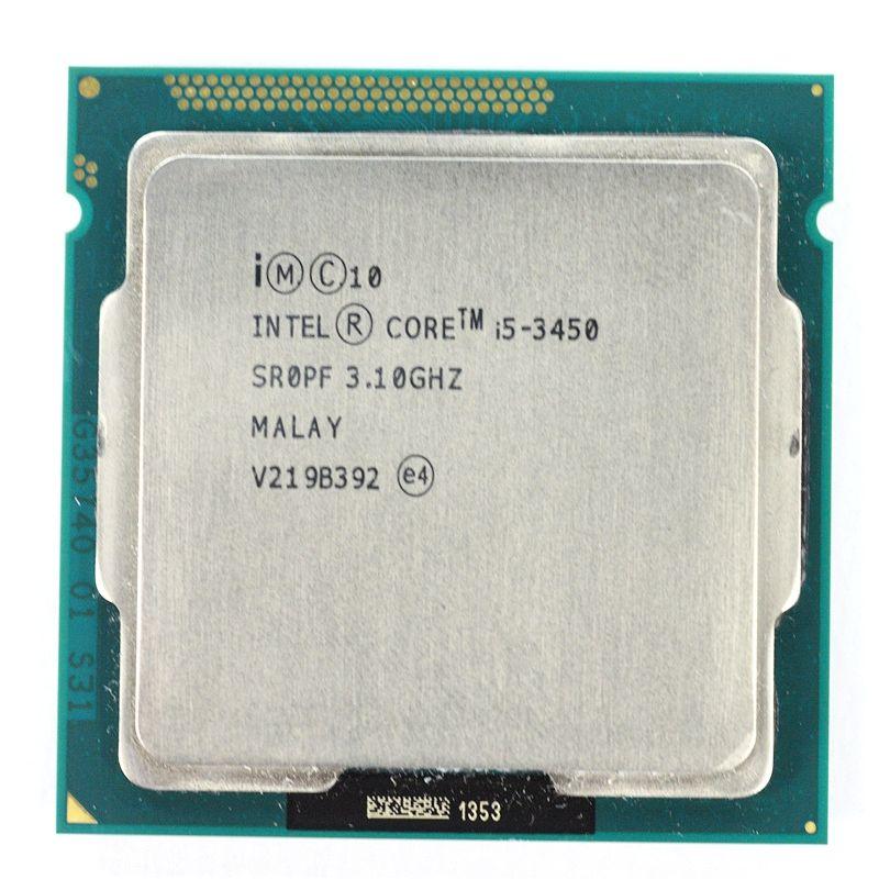 Intel Core i5 3450 3.10GHz Quad Core 6M Socket 1155 CPU Processor SR0PF