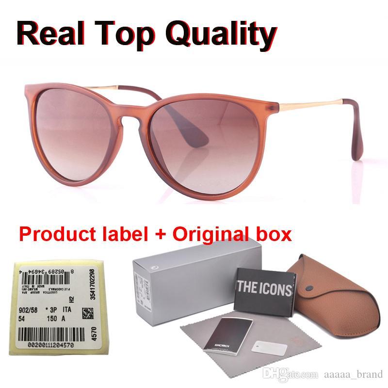 En kaliteli (Polarize Lens) Perakende vaka ve etiket ile Kadın Erkek Marka Tasarımcı Gözlük Spor Sürüş Güneş Gözlük Güneş gözlüğü