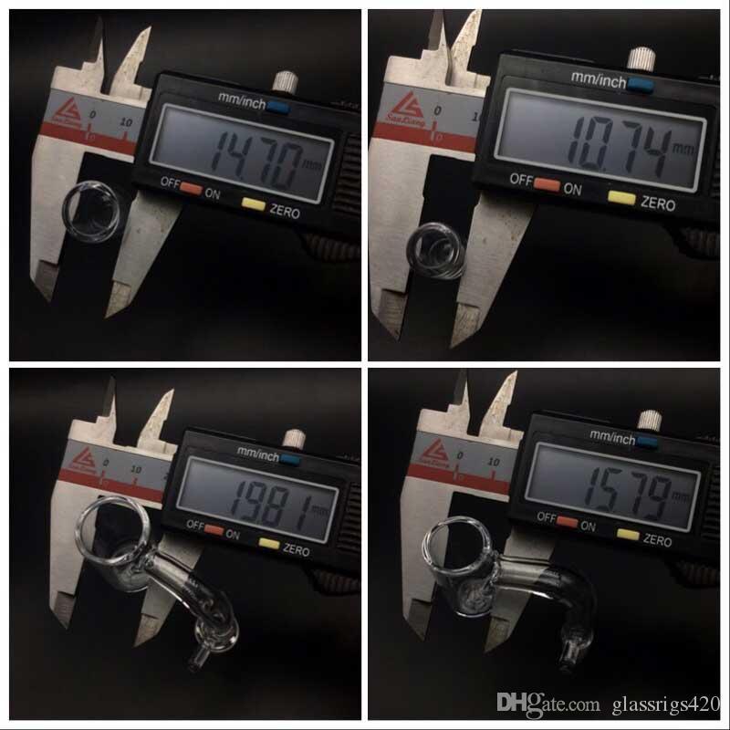 Lastest Quartz Enail Banger With Removable Quartz Insert 10mm 14mm 18mm Male Female Quartz Banger Nails Suit For 16mm 20mm Coil Heater