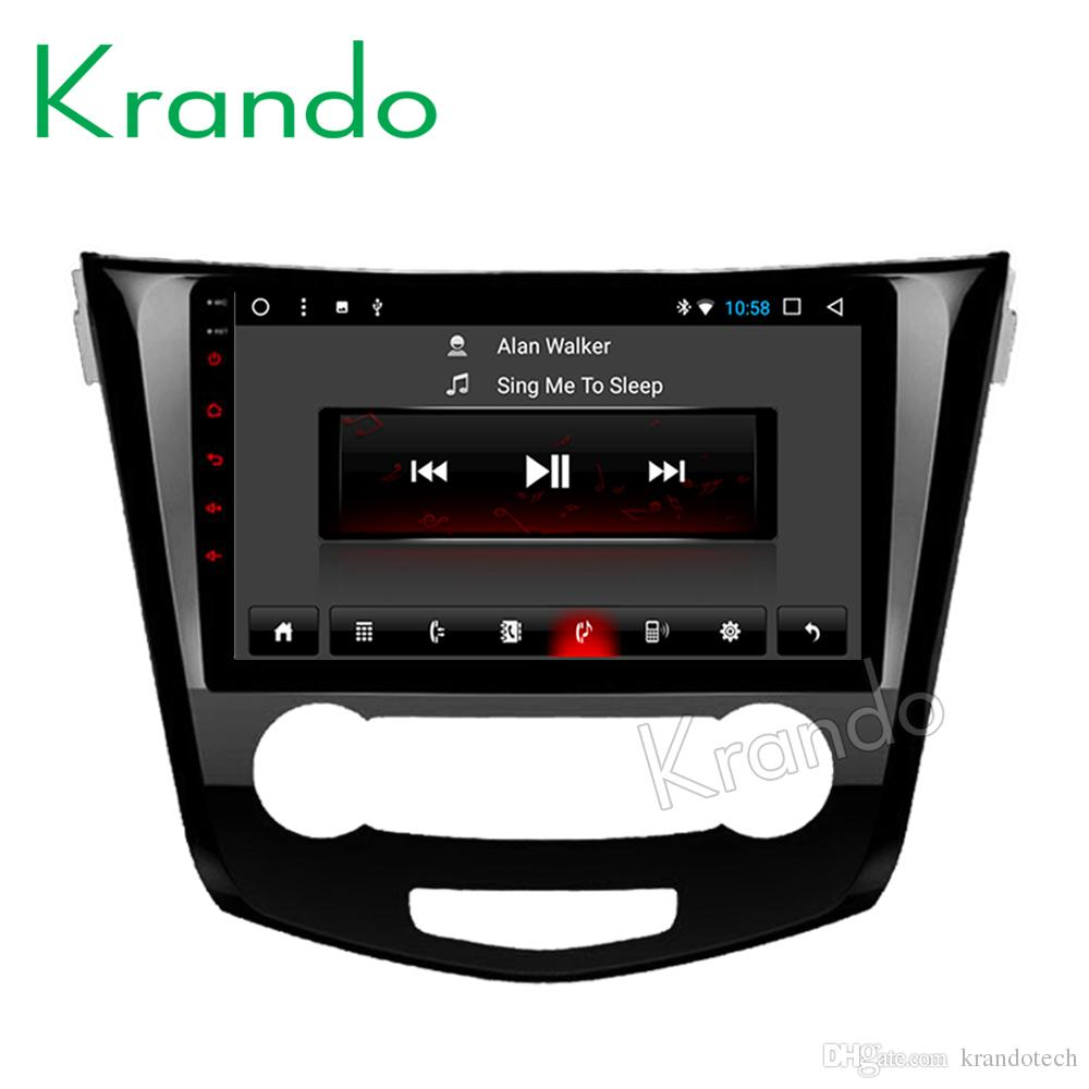 "Krando Android 8.1 10.1"" Touch screen car Multmedia system for NISSAN X-TRAIL /Rouge 2013+ radio player gps navigation wifi car dvd"