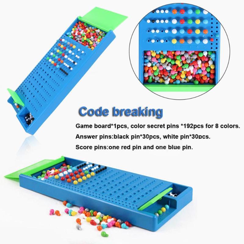 هدايا الاطفال الرياضيات لعبة عائلة الأم والطفل التفاعلية لعبة العقل المدبر لعبة المرح لغز عد الخرز كود لعبة كسر لعبة الأطفال التعليم