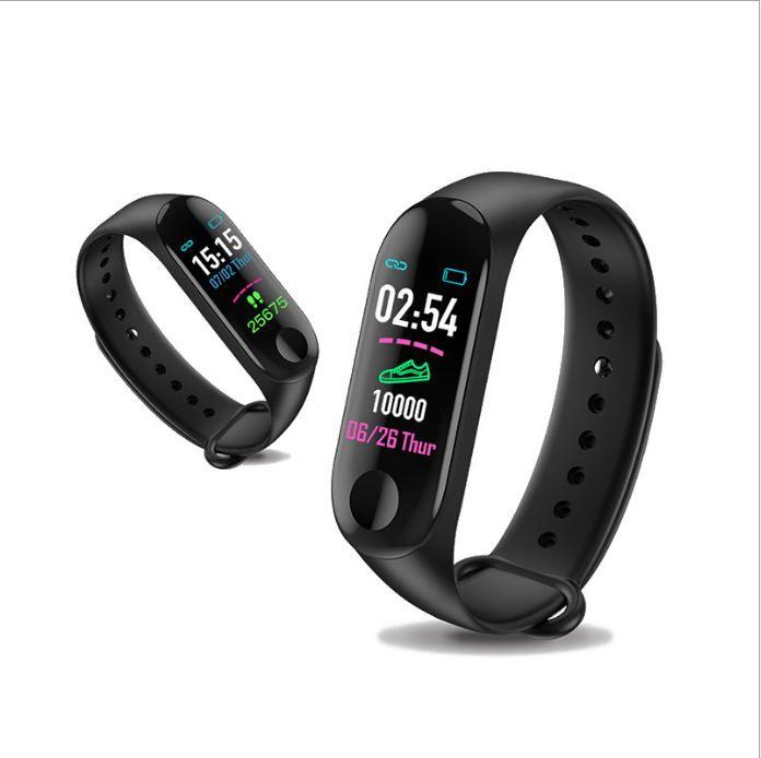 Цена по прейскуранту завода-изготовителя для mi band 4 Smart Watch Band браслет Браслет фитнес-трекер артериальное давление частота сердечных сокращений M3plus Smartwatch Drop Shipping