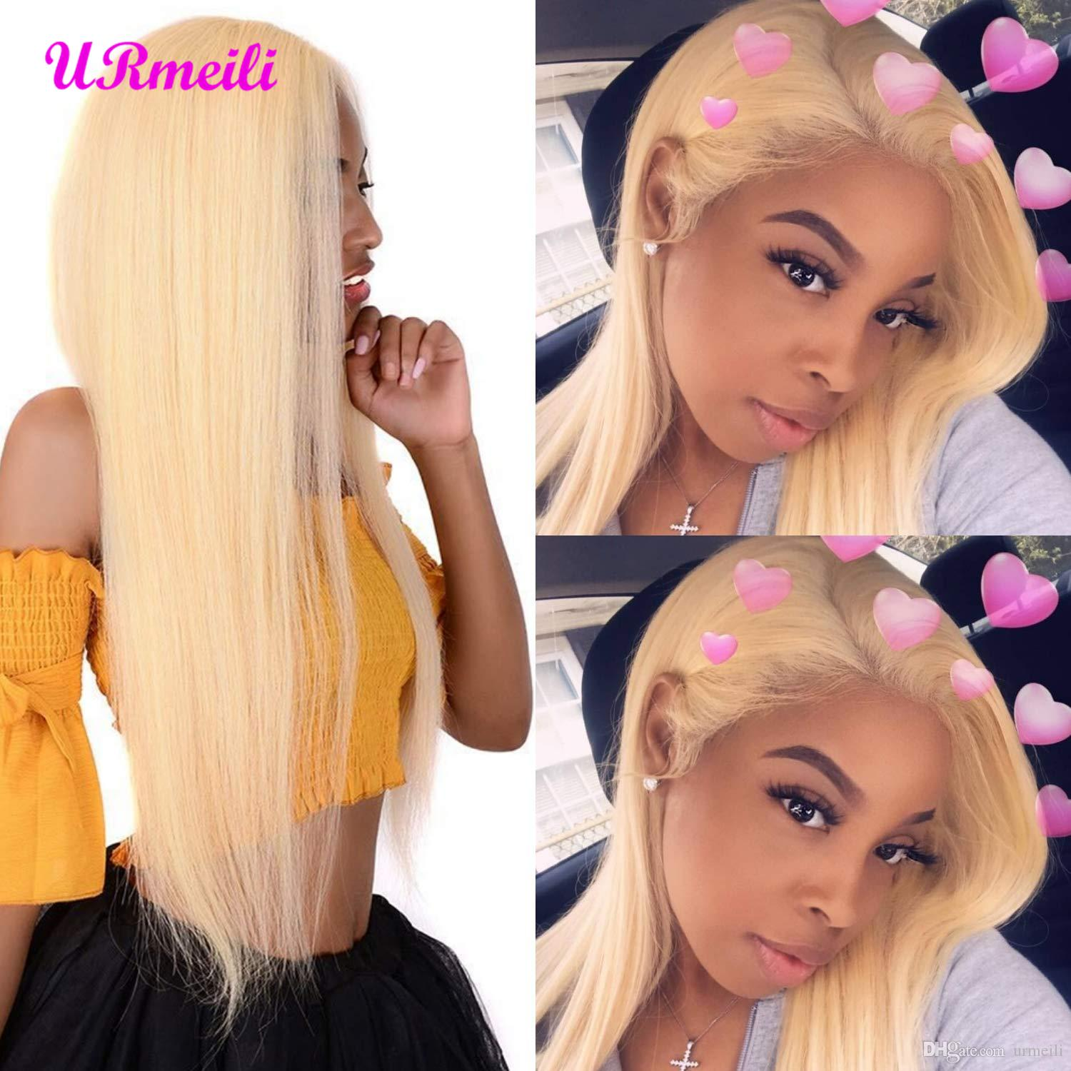 613 Blonde Full Lace Wig Human Hair 10A Grade Brazilian Remy Virgin Hair Lace Front Wigs For Black Women 360 Human Hair Wigs