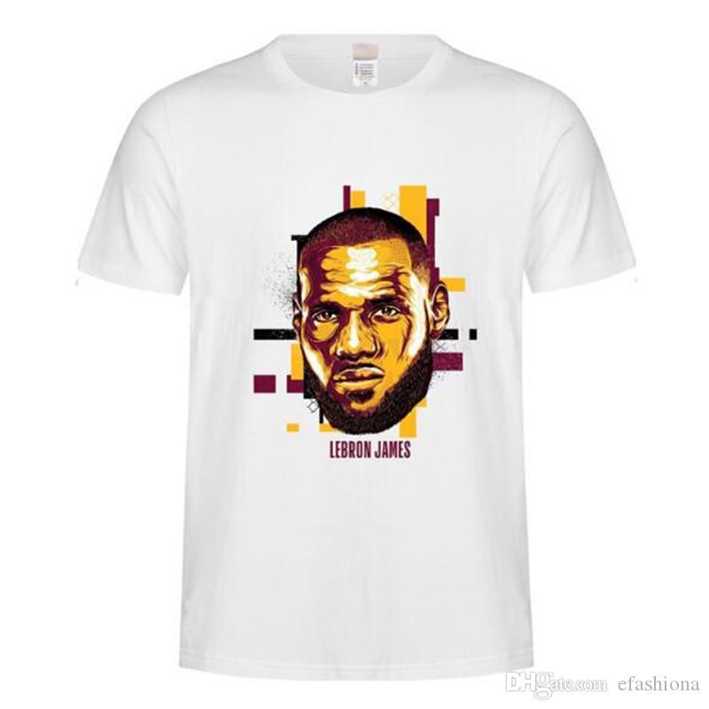 카레 LeBron 어빙 Harden Durant 디자이너 여름 T 셔츠 Mens 농구 선수 디자인 티 느슨한 3D 인쇄 된 T 셔츠 남자 tshirt XZ044