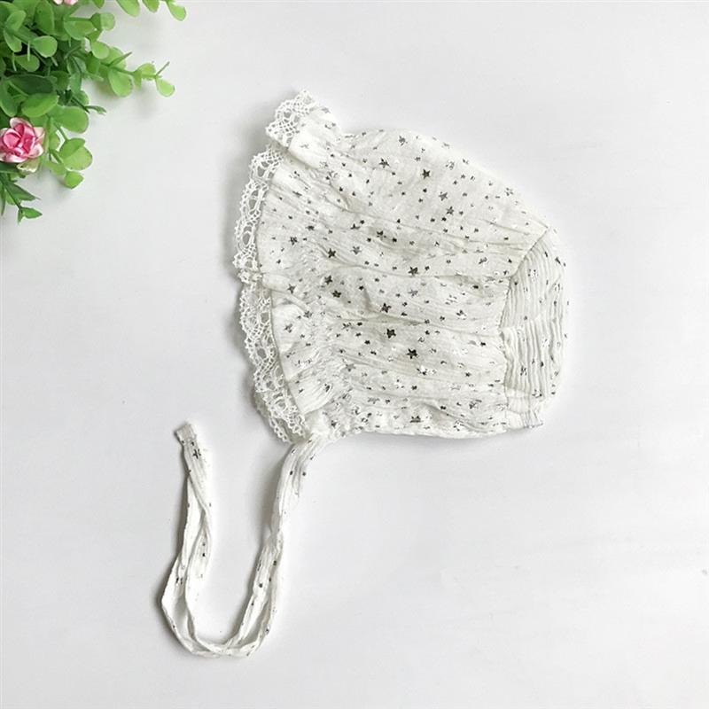 Cotton Gaoke bebê macia Hat Summer Infant Chapéu Panamá de algodão criança crianças Cap Rapazes Meninas da estrela Sun