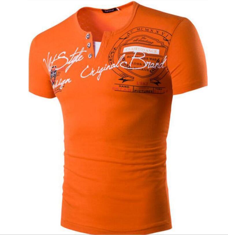 2020 Mens di estate magliette con lettere Moda manica corta casuale Mens Tee shirts a maniche corte Polo Top Taglia M-2XL