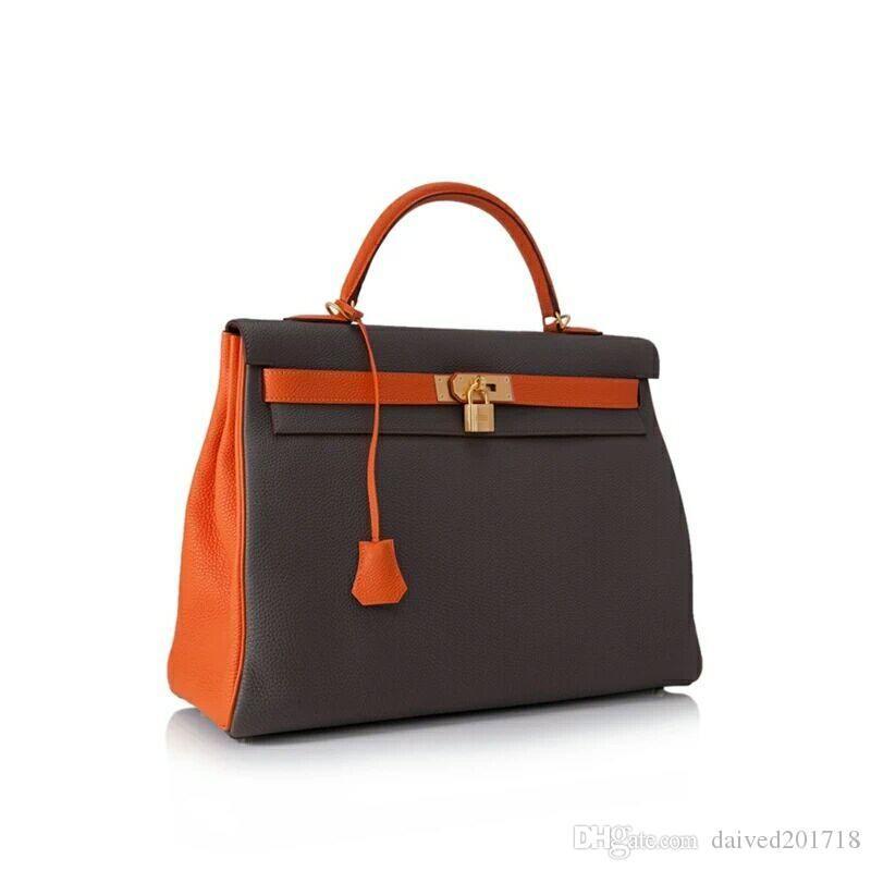 Les modèles en cuir gros de sacs à main de style européen française de qualité Catwalk Fashion fabriqués