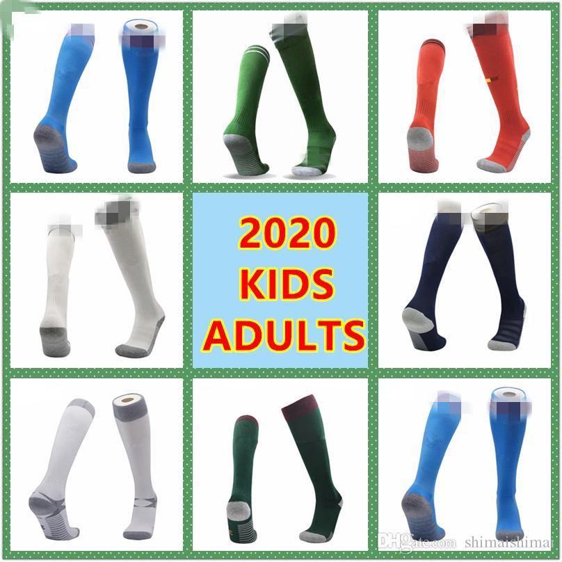adultes + enfants 2020 2021 Coupe d'Europe Belgique Allemagne Irlande du Nord Espagne Japon bas sport enfant football italien de chaussettes de football