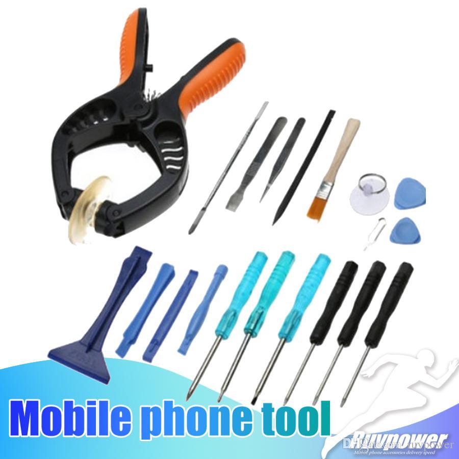X 8 Teléfono Móvil Kit de Herramienta de Apertura Destornillador Conjunto de reparación 10 en 1 para iPhone 7