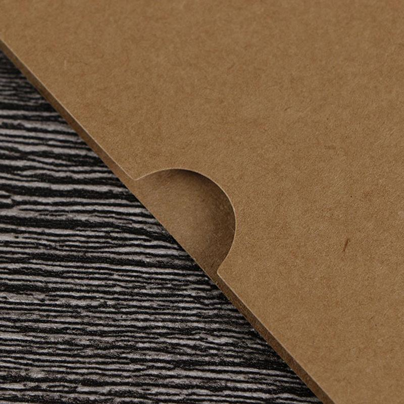 10pcs marco de fotos de bricolaje 3 5 6 7 pulgadas de papel Kraft pared de colgante Decoración innovación Para el hogar FO Venta