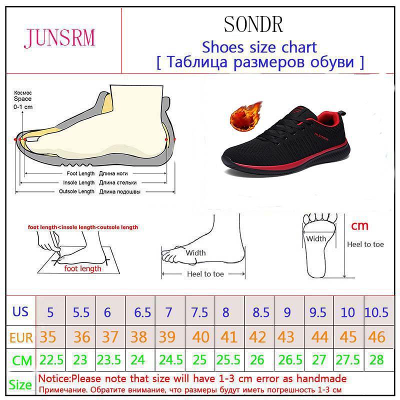 2020 nouveaux hiver plus chaud velours chaussures de sport hommes de marche respirant confortable légère Tenis Feminino Zapatos