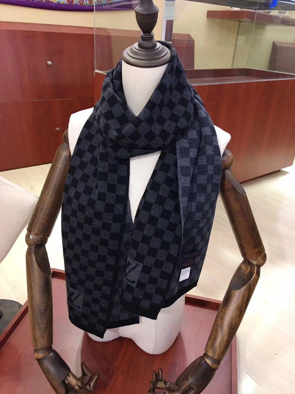 Hiver chaud Marque Hommes Femmes Mode Foulards en laine mélangée Foulard Homme Femme écharpe 170 * 40cm Options de 2color