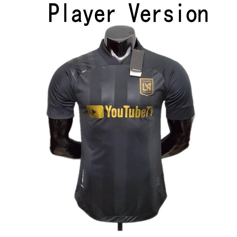 2020 LAFC Версии Джерси Mens # 7 BLESSING ROSSI игрока футбол Uniform Los Angeles FC # 10 VELA DIOMANDE Футбол Рубашка