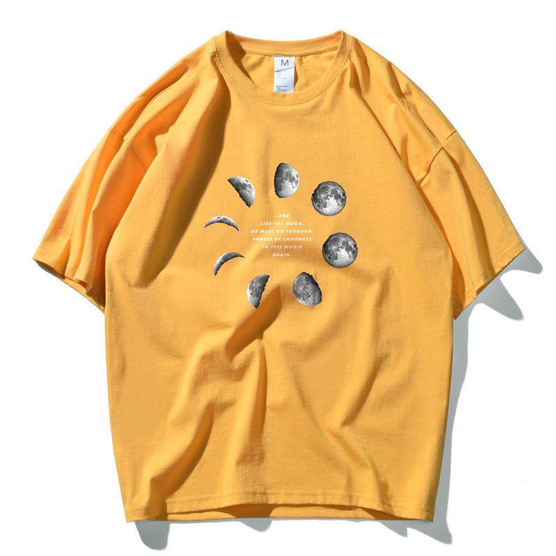 ETE astronauta della NASA a maniche corte T-shirt in di uomini marchio di moda cotone sciolto del tutto-fiammifero eccellente fuoco CEC T-shirtFWAR