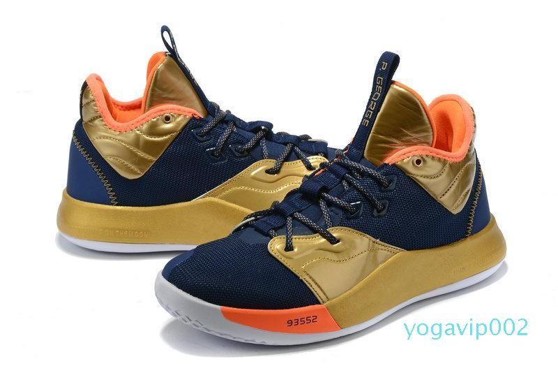 2020 newPaul George PG 3 3S PALMDALE III P.GEORGE Mens Basketball Shoes Men Triple PG3 Starry Blue Orange Red Black Sports Designer Sneakers
