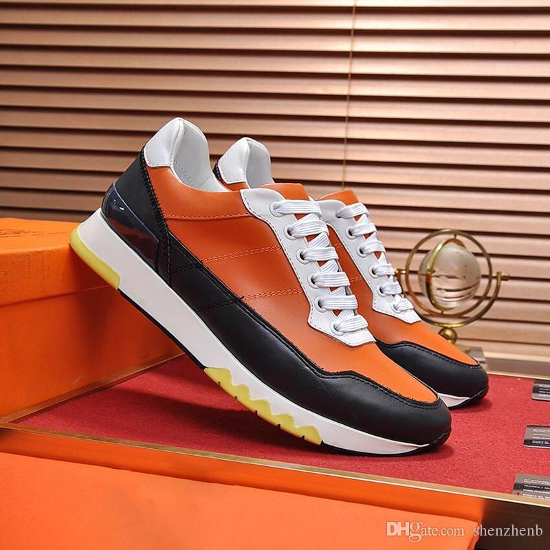 Compre Zapatos De Hombre De Zapatillas De Estadio De Alta Calidad Venta Calzado De Moda Tallas Grandes Zapatos De Hombre Transpirables Zapatos Casuales Para Caminar Al Aire Libre Moda Schuhe A 0 87