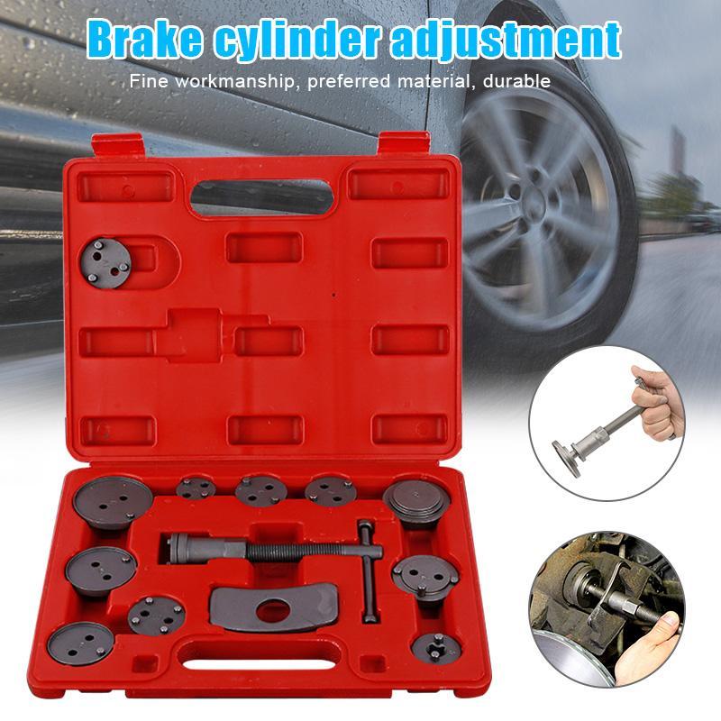 13 PCS / set Kit Disc Brake Caliper Vento Voltar Ferramenta para o veículo Car M8617 Reparar