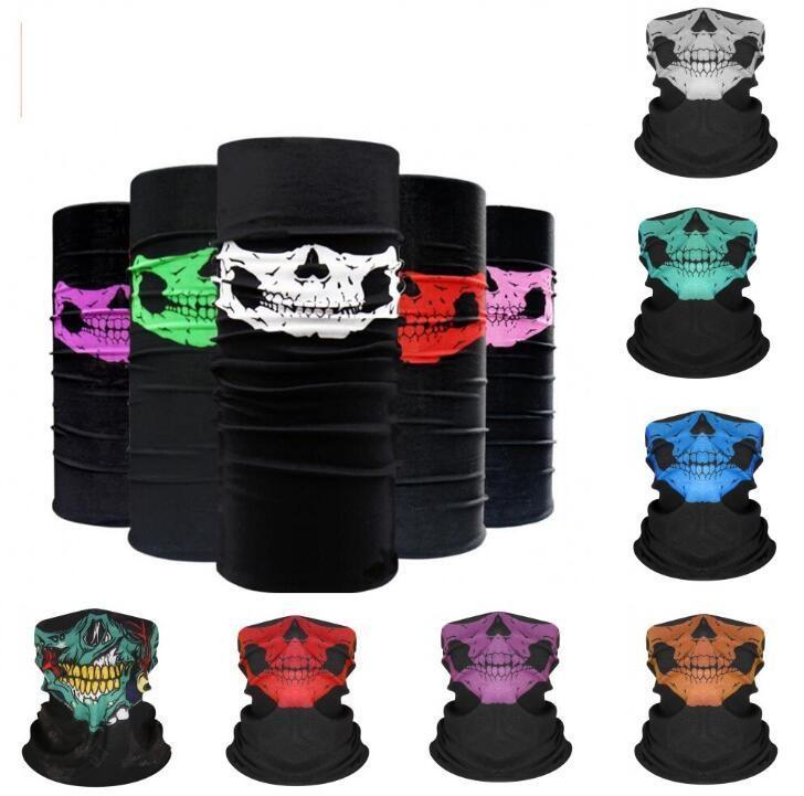 Halloween-Party-Schädel-Masken Neopren-Schädel-Bandana Vollgesichtsmaske sking warme Paintball Sport-Fahrrad-Motorrad-Sturzhelm-Ausschnitt Gesicht Balaclava Mask