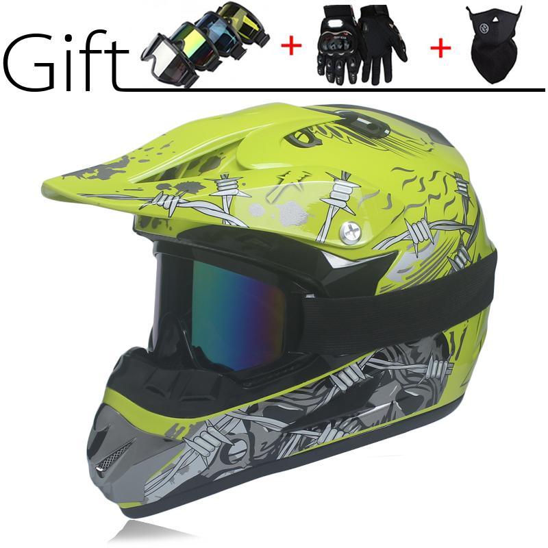 casco de motocicleta ATV Dirt bike de descenso cruzar capacete da motocicleta cascos de motocross fuera de los cascos de carretera