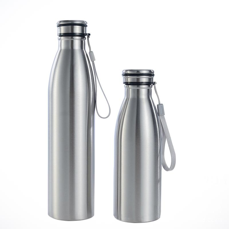 ALUMINIUM DRINK WATER BOTTLE 1000ML WITH BLACK CAP /& FREE DELIVERY