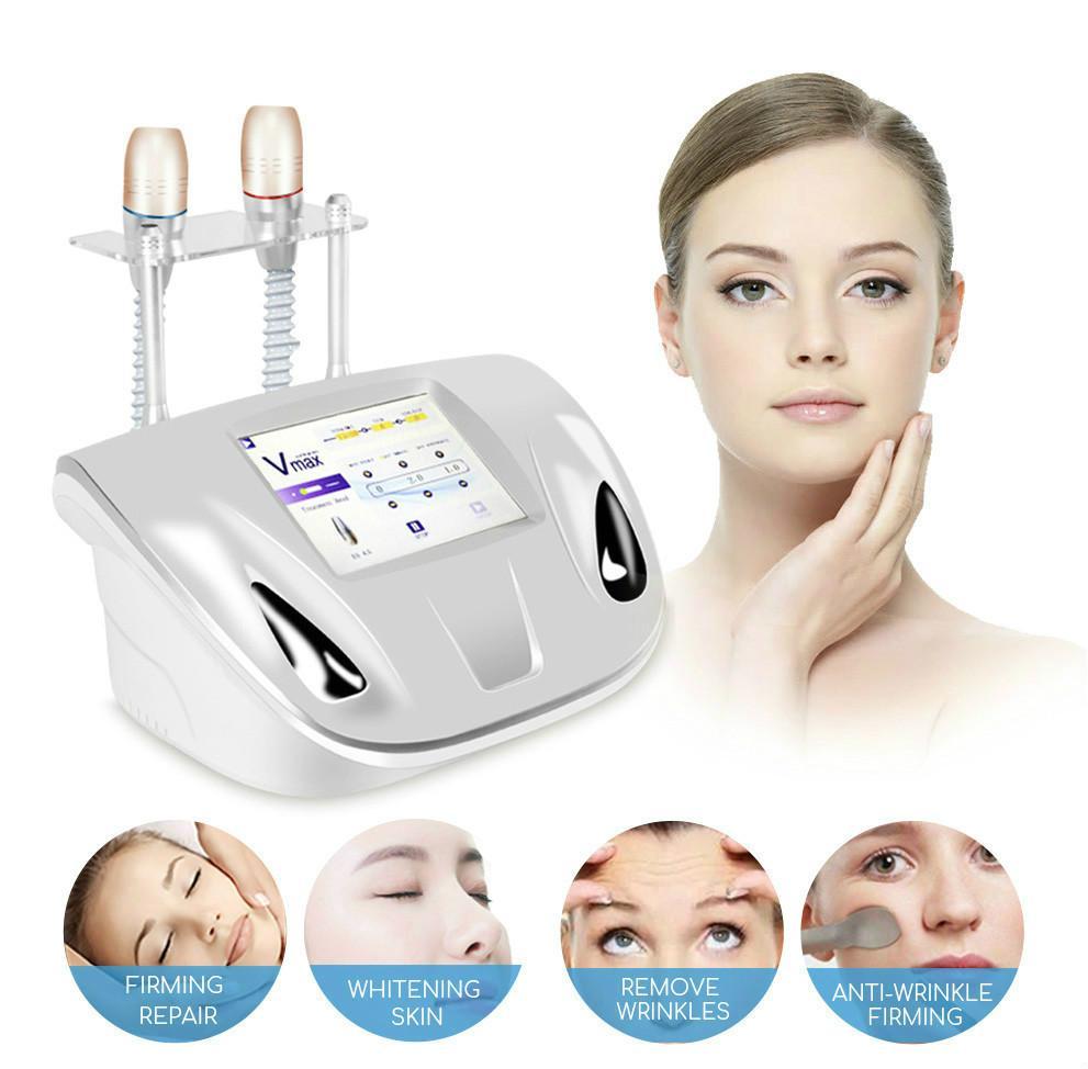 Uso personale Vmax HIFU Face Lifting Vmax pelle di serraggio Skin Care Therapy HIFU rimozione delle rughe viso Cura della pelle macchina CE / DHL