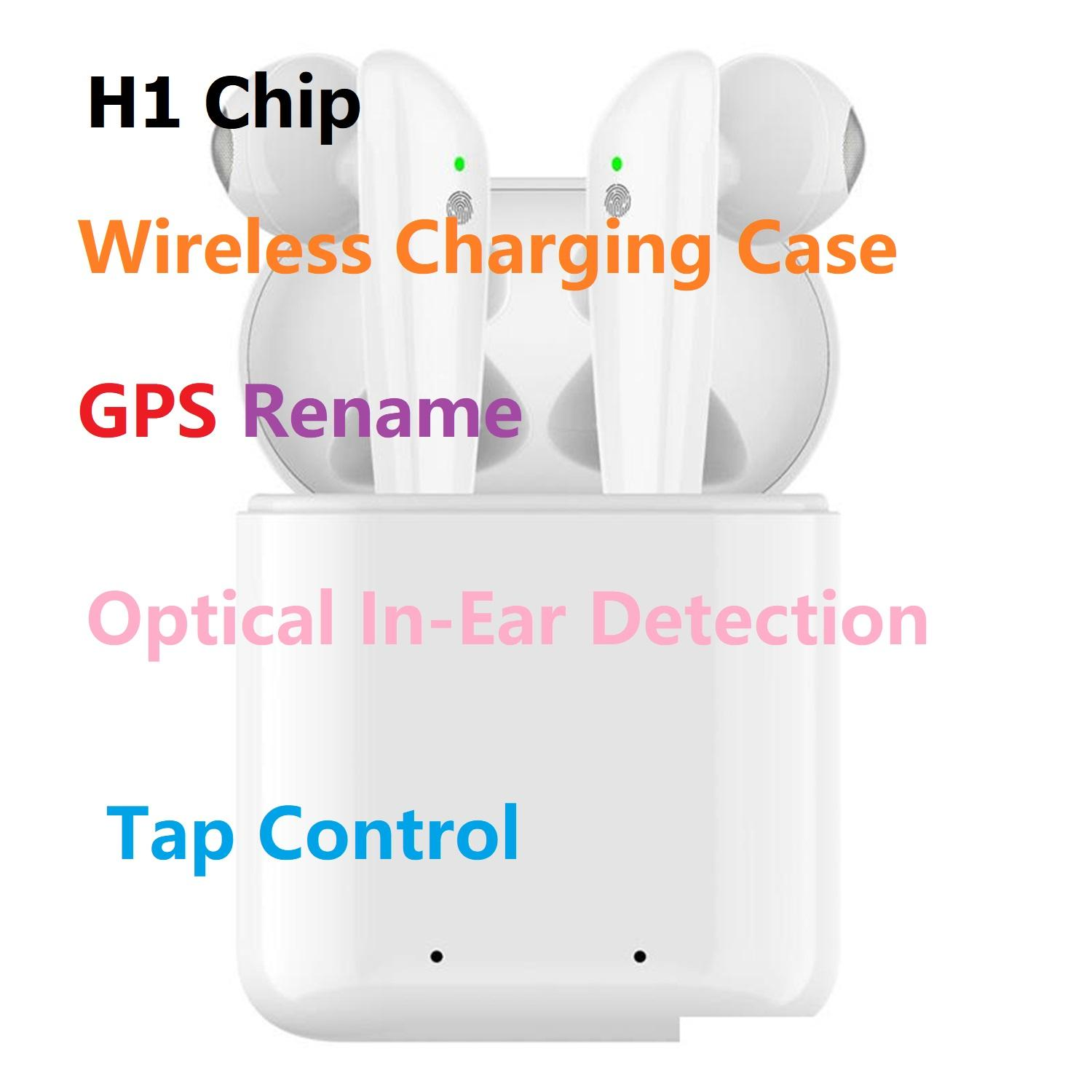Goophone Pods Pro Gen 3 Popup Supercloned H1 Chip Bluetooth Earphone Headset Touch Voice Control Sensor Validate SN Change Bluetooth Name