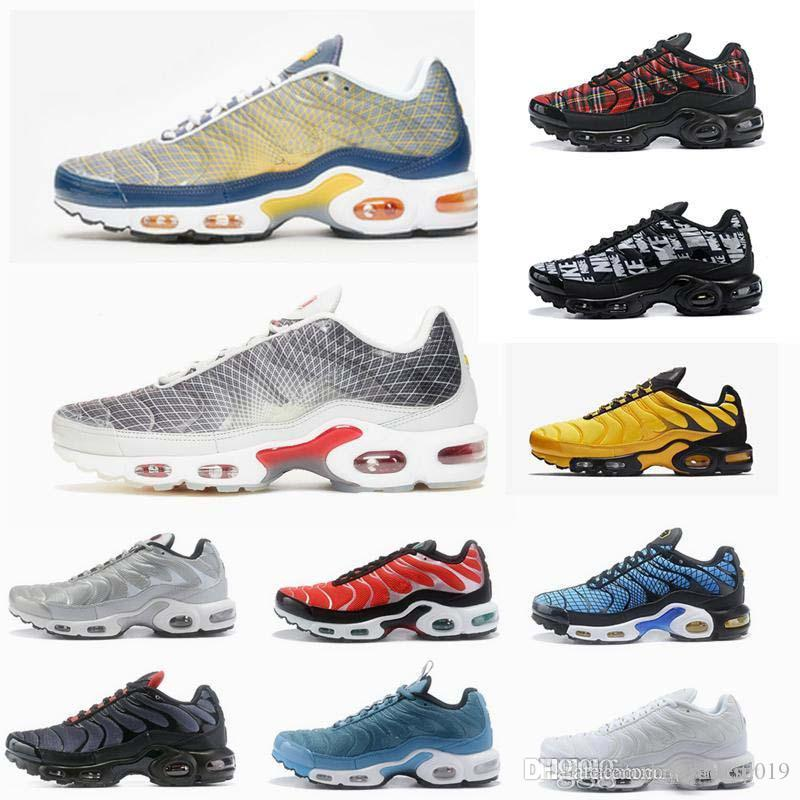 2020 Tn Plus Se Greedy Running Shoes Mens Trainers Mercuial Chaussures Tns Ultra Sports Breathable Sneakers Zapatillas de Sports 40-46