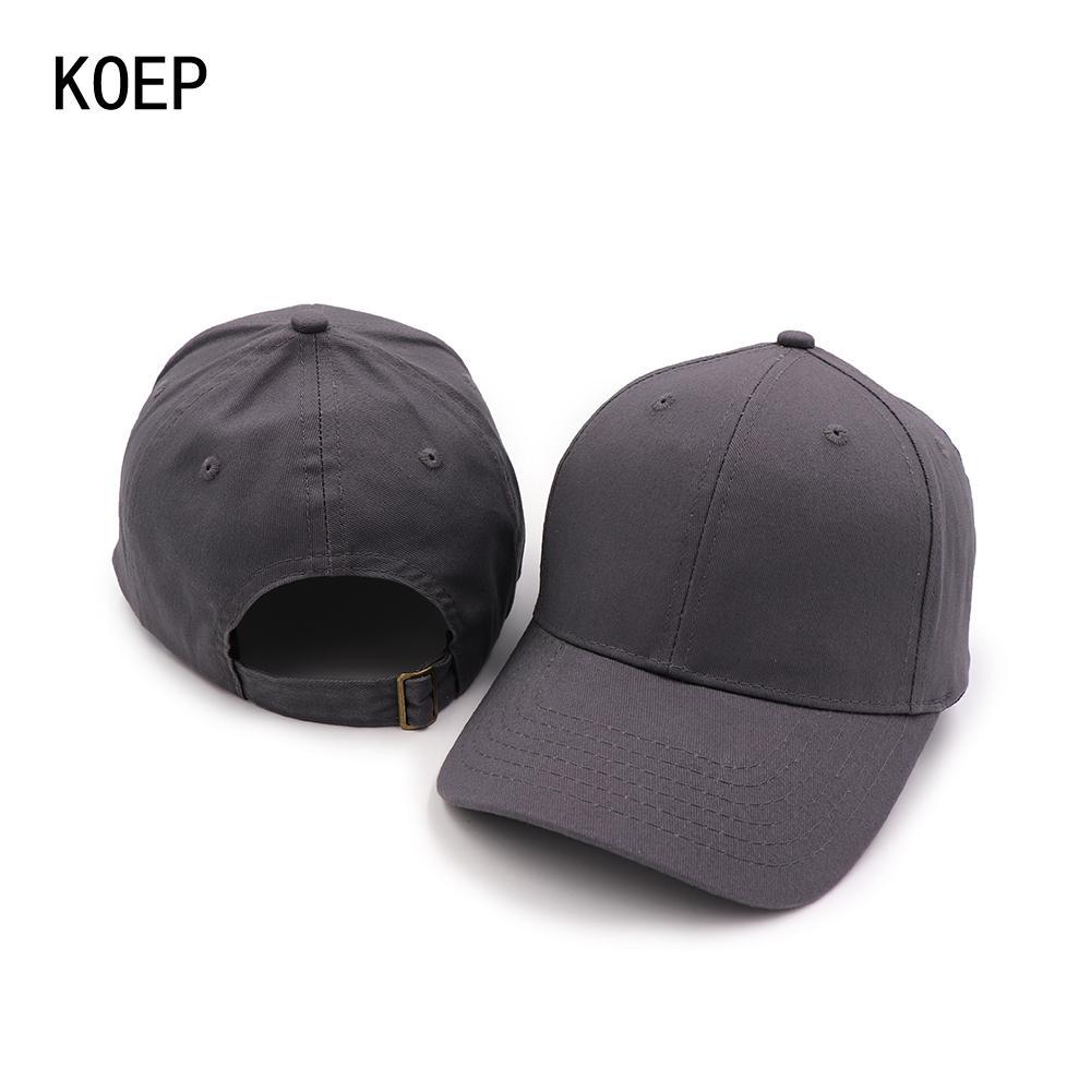 queen66% 100 Orijinal Üretici Kalite Pamuk Beyzbol şapkası Casquette Ayarlanabilir Caps Erkekler Feminino Grubu Basit Baba Şapka Cap Takımı