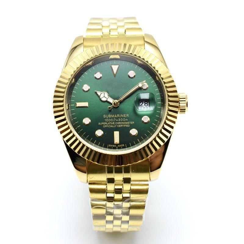 In vendita 36 / 40mm moda in acciaio inox al quarzo orologi da uomo d'affari data orologio da uomo di design orologio all'ingrosso regali da uomo orologio da polso