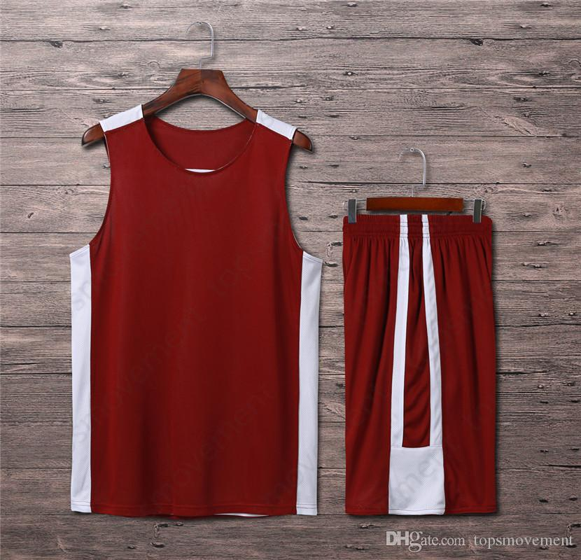 2019 Lastest Homens Basketball Jerseys Hot Sale Outdoor Vestuário Basquete desgaste de alta qualidade 60
