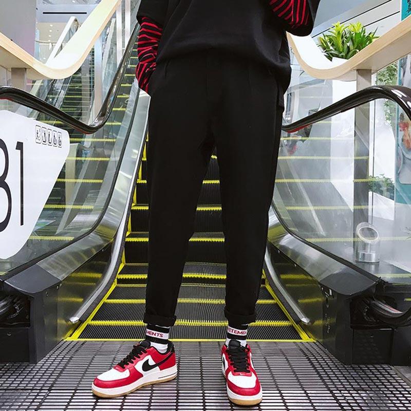 Printemps Hiver Hommes Pantalon en laine Hip Hop Fashion Streetwear pantalons hommes Casual chaud Jogger Sarouel hommes Pantalon Invierno Hombre