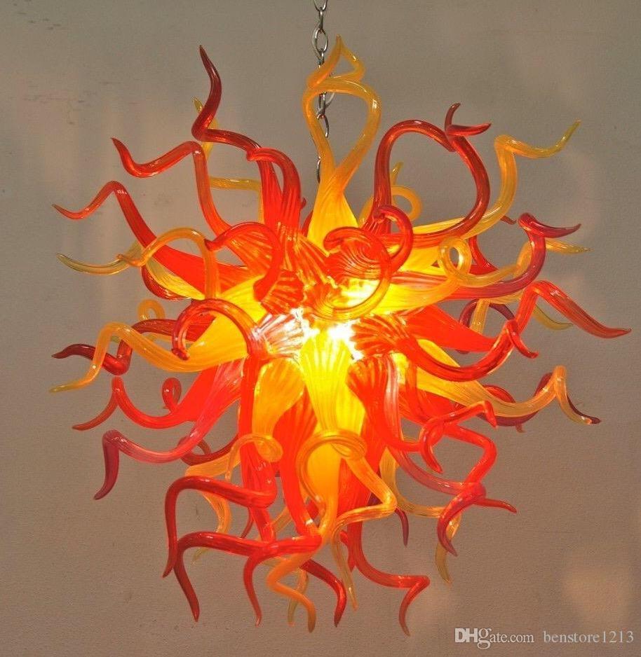 Lámparas de cristal de la lámpara de cristal de las lámparas del colgante de las lámparas de la sala de estar para la sala de estar LED de la lámpara de la lámpara de la lámpara de la iluminación del dúplex de la lámpara de construcción
