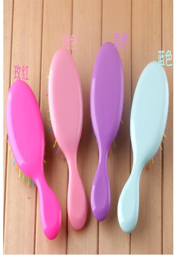 Brosse de lavage personnalisé Scalp cheveux massage Shampooing Brosse à cheveux Turquoise Head Huile de massage cheveux Washing UXaSr