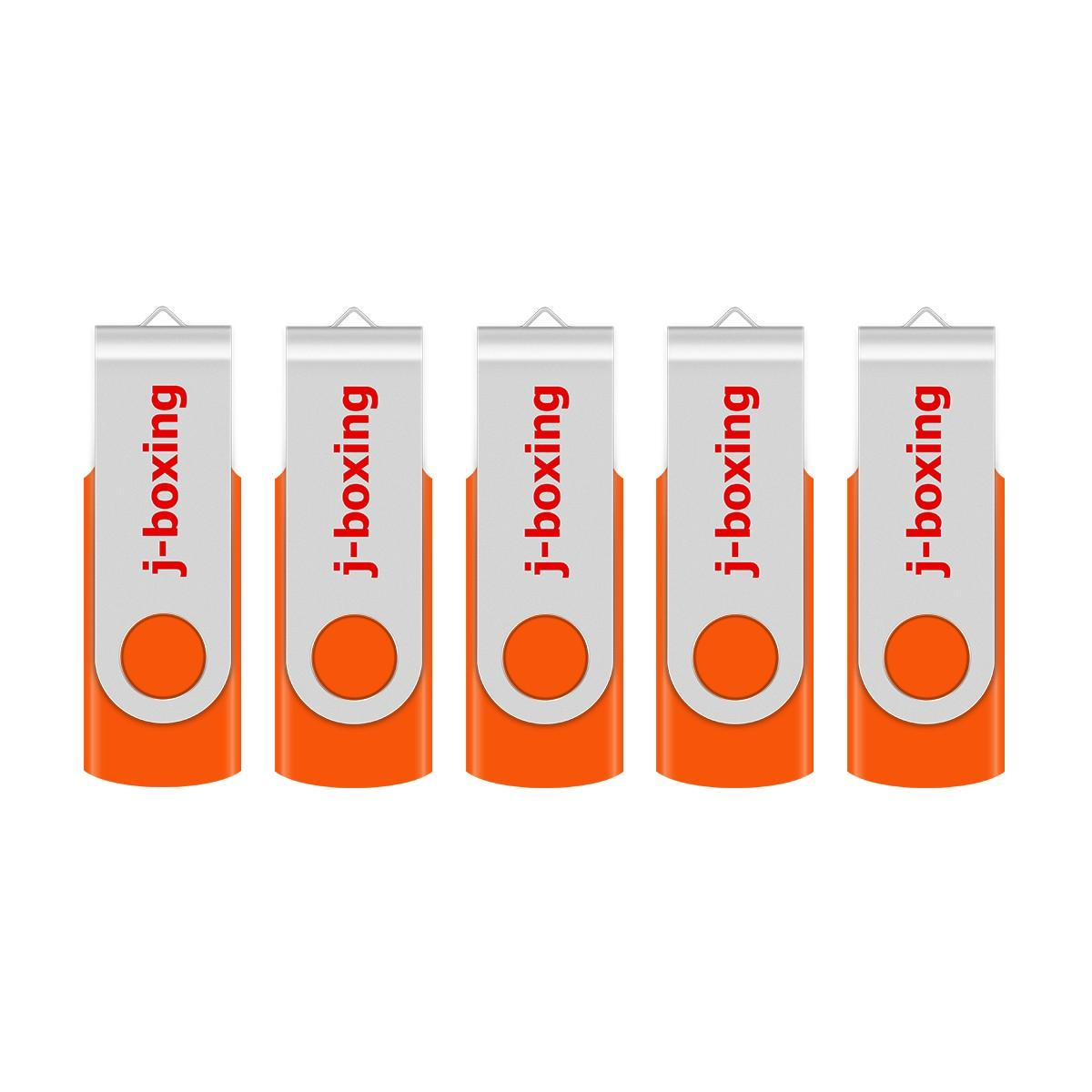 Orange 5PCS/LOT 1G 2G 4G 8G 16G 32G 64G Rotating USB Flash Drives Flash Pen Drive High Speed Memory Stick Storage for PC Laptop Macbook