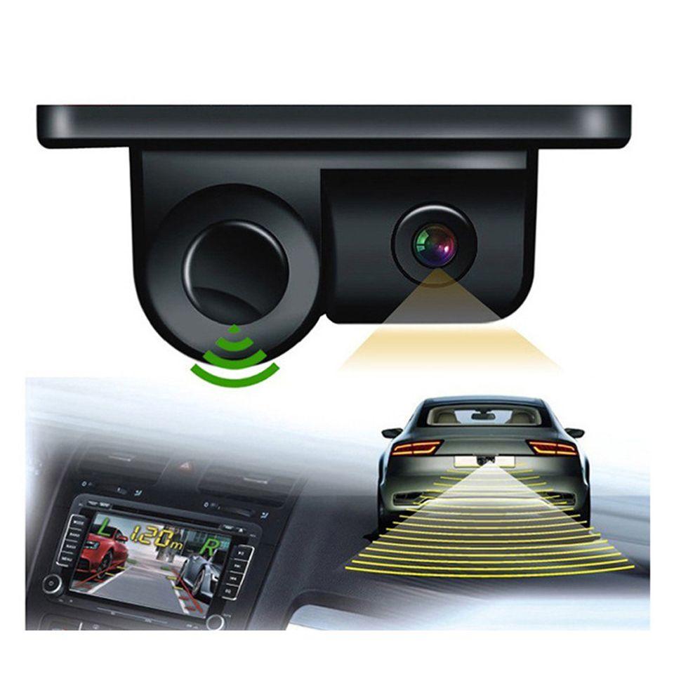 2 1 역전 레이더 + 후면 카메라 주차 센서 자동차 사각 탐지 시스템 자동 역전 레이더 파크 트로닉 센서