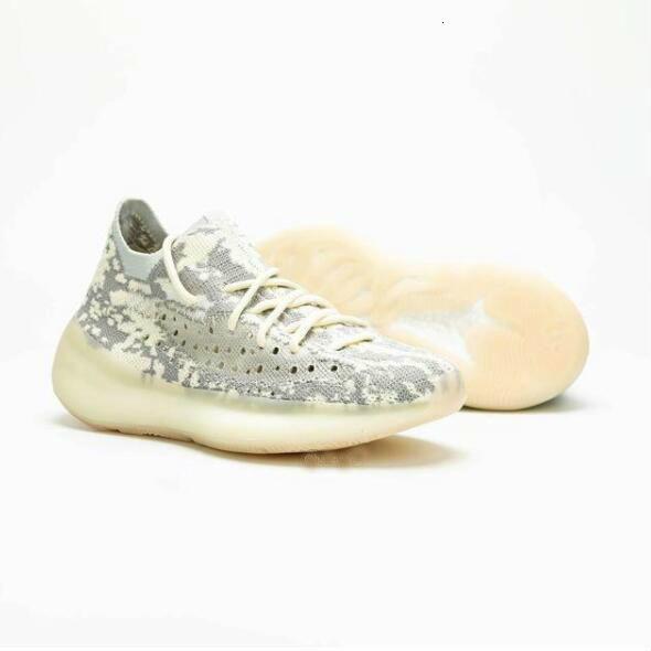 380 3 Kanye V Цитрин Черный Белый Чужой Зеленый Желтый Розовый Кроссовки Мужчины Женщины Мода Работает Открытый Обувь