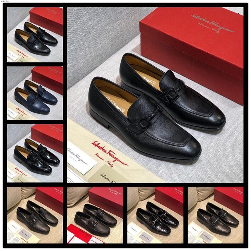 scarpe casual A4 16 stile di design di lusso dei pattini di affari di quattro stagioni della moda professionale scarpa abito classico uomo di partito selvaggia Uomo