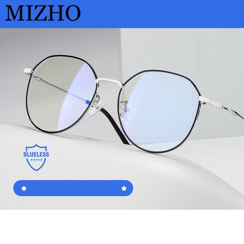 Kamaşma Bilgisayar Gözlük Metal Engelleme MIZHO modaya Yeni Filtreleme Koru Görme Karşıtı Mavi Işık Gözlük Kadınlar Bakış Telefon