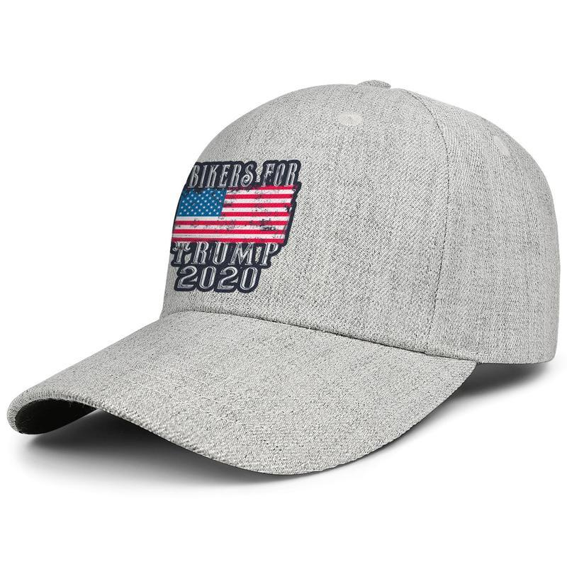 Bikers for Trump grey man truck driver Duck tongue hatdesign fit golf sports retro custom fashion original Duck tongue hat