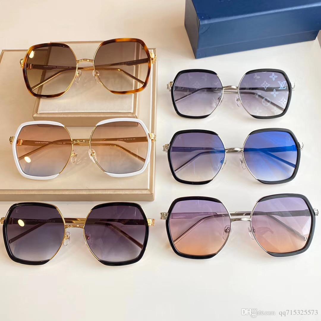 New Arrivals 2020 Sonnenbrille der Männer Neueste Vintage-Oversized Rahmen Goggle Sommer-Art-Marken-Designer-Sonnenbrillen Oculos De Sol UV400