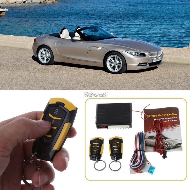 L'alta qualità di allarme 12V Auto Telecomando chiusura centralizzata veicolo Sistema Keyless Car Kit Styling DropShip