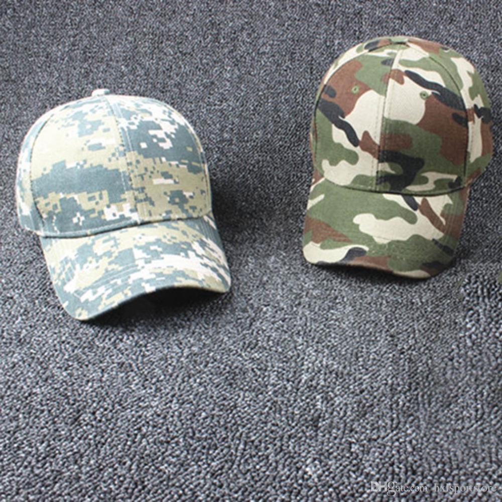 Yeni Ayarlanabilir Askeri Avcılık Balıkçılık Şapka Ordu Beyzbol Açık Kap Popüler 2016 Toptan
