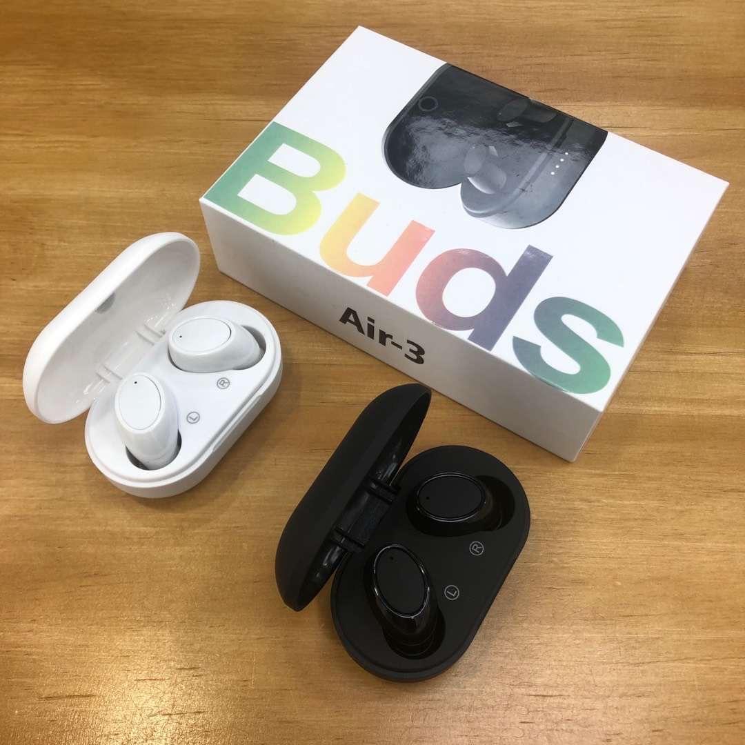 Air-3 Tomurcukları TWS Mini Bluetooth 5.0 Kulak Gerçek Kablosuz Kulaklık Kulaklık Mic ile Stereo Kulaklık A6S Air3 A7S Xiaomi Tüm Akıllı Telefon için A7S Xiaomi