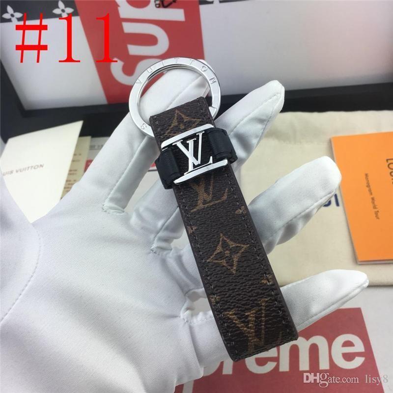 19ss 19ss CHARMS top Marca Designers PORTACHIAVI CATENE supporto del sacchetto portachiavi KEYCHAINS alta qualità con la scatola L5