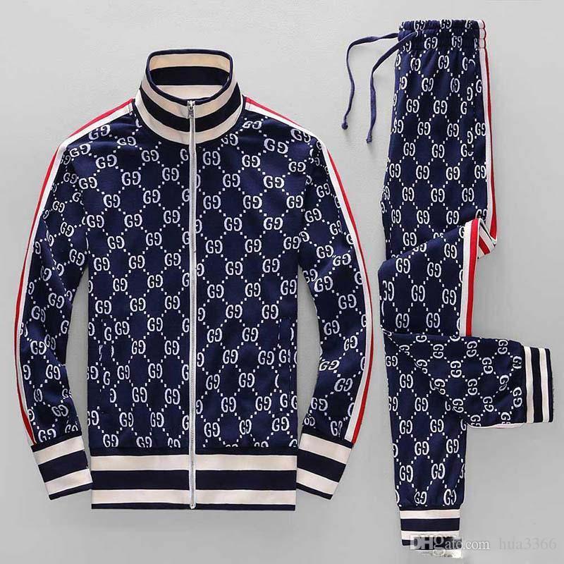 Hommes Vêtements de sport à capuche et sweat-shirts Jogger d'hiver Noir Blanc Automne Mens Costume sport Survêtement Survêtement Set Plus Size M-3XL