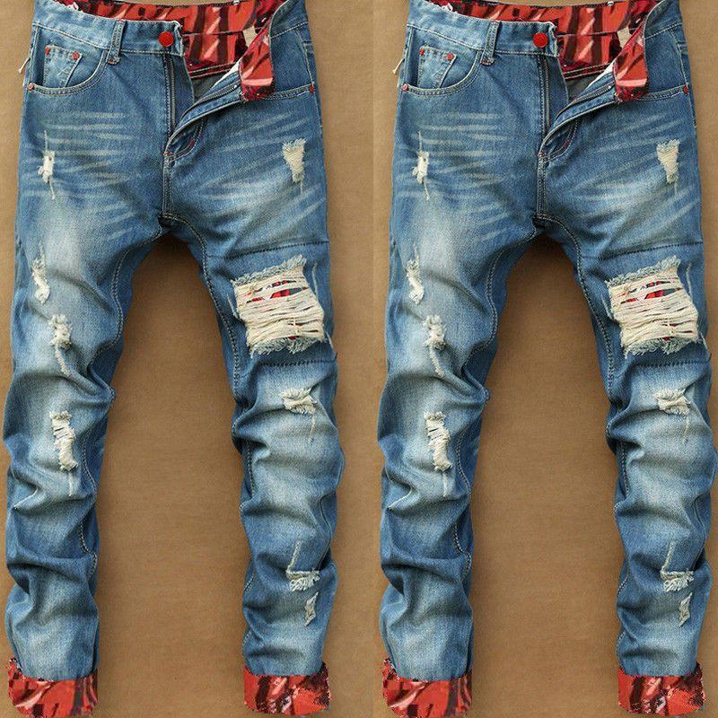 2018 Otoño Nuevo Retro Jole Jeans Hombres Pantalón Largo Algodón Denim Pantalón Hombre Más Tamaño Alta Calidad