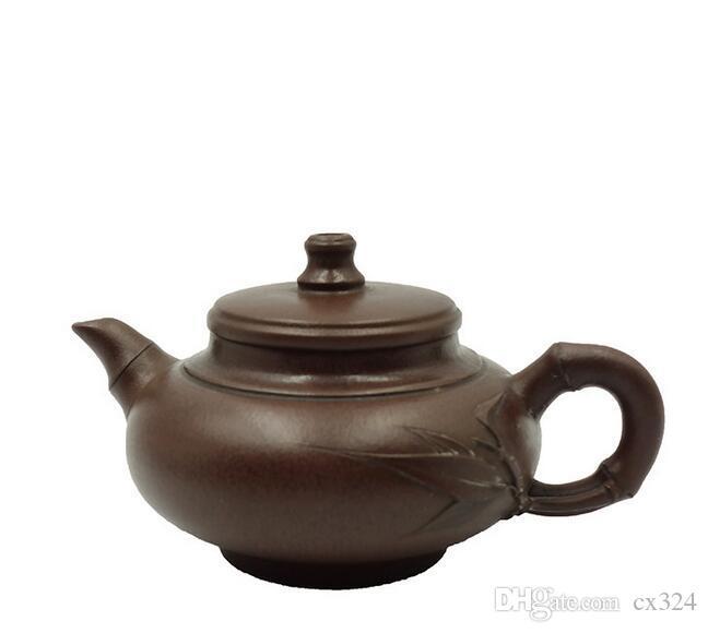 Zisha pot handmade boutique household large capacity teapot home collection ore purple clay pot