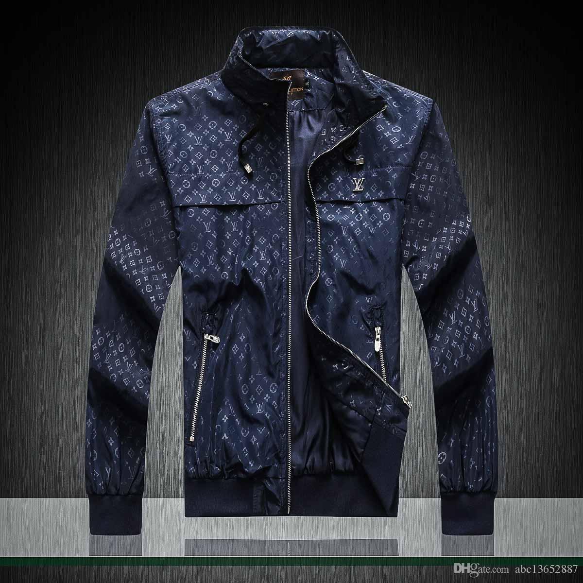 2019 sıcak erkek tasarımcı ceketler Denim Ceketler Erkekler Hip Hop Marka lüks ceket Erkekler Kabanlar Palto erkek Giyim